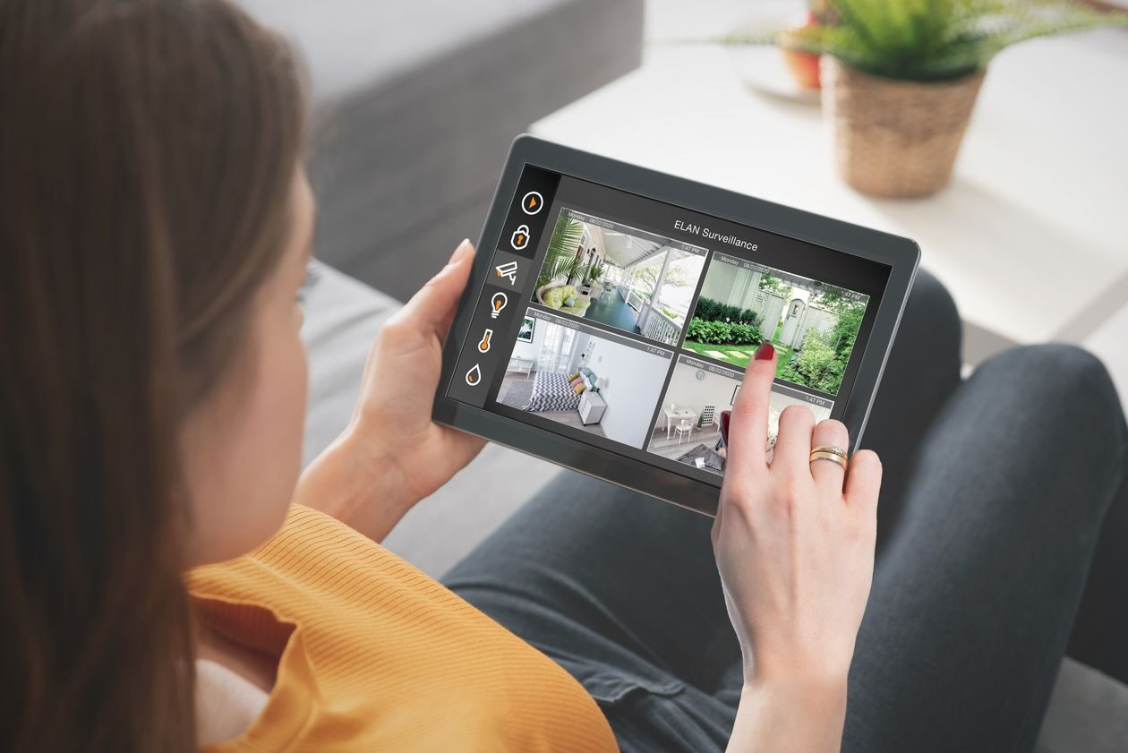 Die ELAN Smart Home Steuerung für Android, Apple, macOS und Windwows.