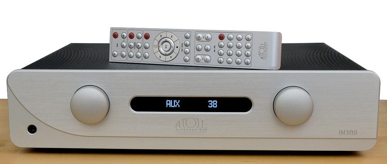 High End Stereo Voll-Verstärker Atoll IN 300 mit D/A-Wandler und optionaler Phono-Verstärker.