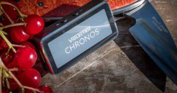 Test-Kopfhörer-Verstärker mit D/A-Wandler: Violectric-Chronos-Knife-3