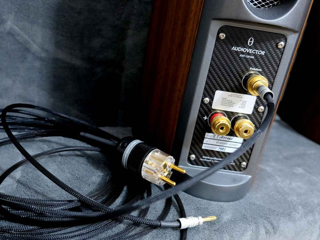 Audiovector R1 Arreté mit Freedom Erdungssystem