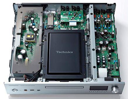 Innen-Aufbau des High End Netzwerk-Player Technics SL-G700