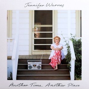 "Im Bild das Cover der LP ""Another time, another place"" von Jennifer Warne"