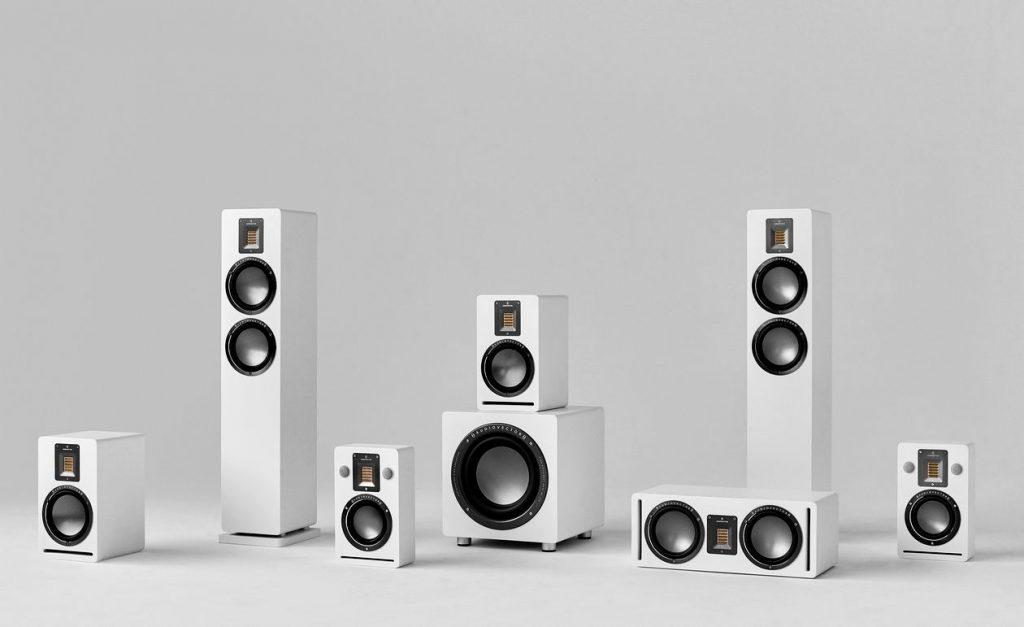 Audiovector Lautsprecher QR-Familie mit Surround