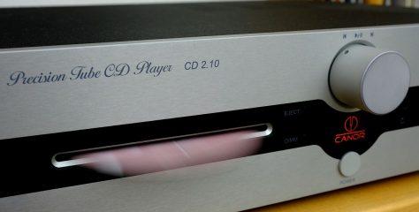 Test Canor CD 2.10 – High End Röhren CD-Player mit Hi-Res D/A-Wandler