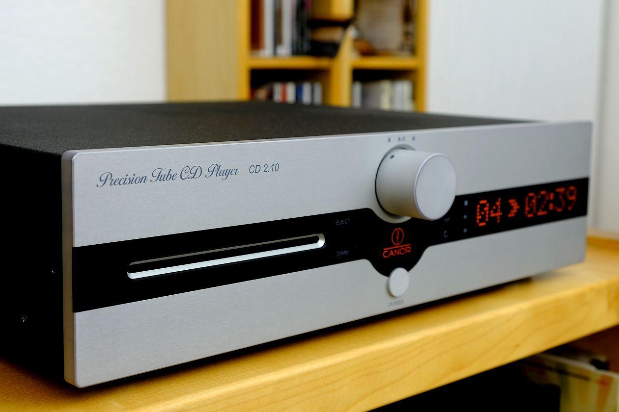 Im Test der CD-Player Canor CD 2.10 mit Slot-In-Laufwerk