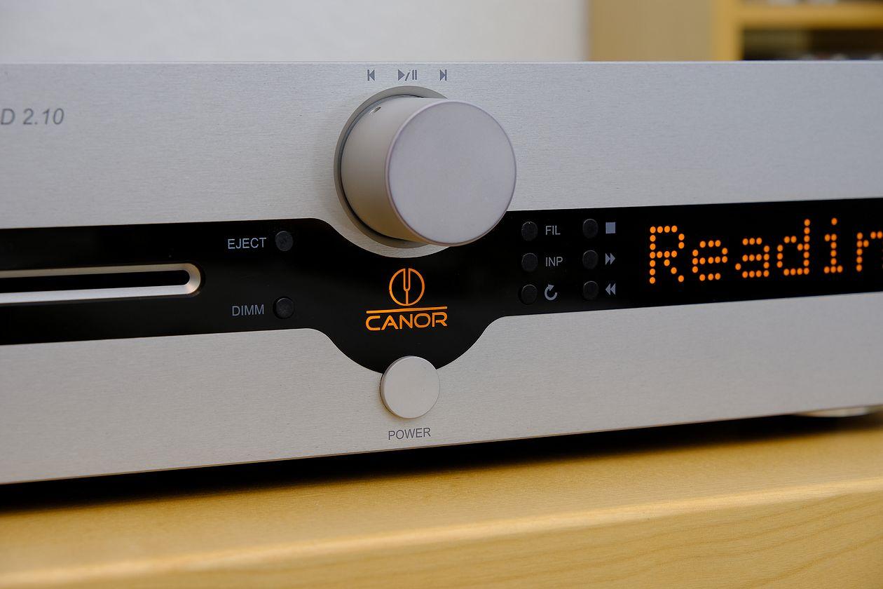 Im Test der High End Röhren CD Player Canor CD 2.10