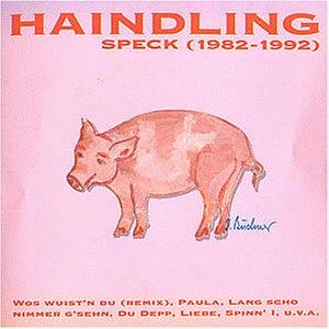 """Cover der CD """"Speck"""" von Haindling"""