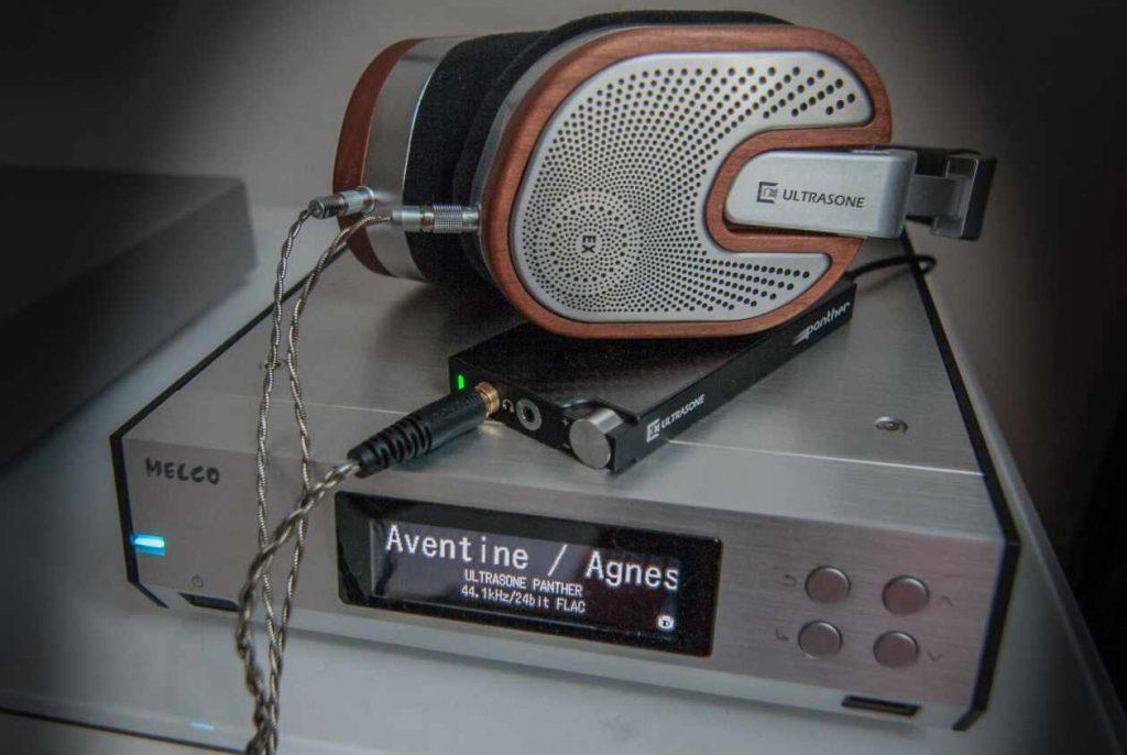 ULTRASONE Panther mit Kopfhörer Edition 15 und Zuspieler Melco N100