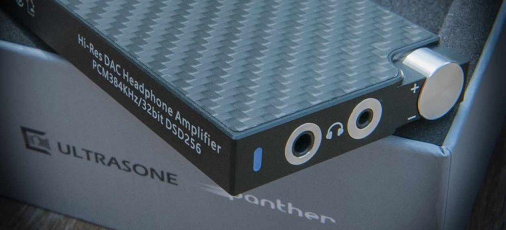 ULTRASONE Panther Kopfhoererverstaerker DAC Detail
