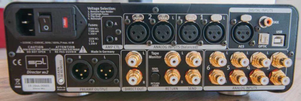 Rückseite des SPL Director Mk2