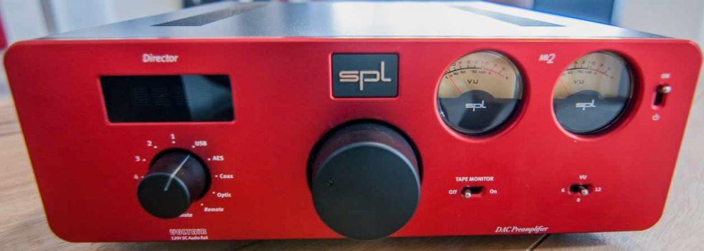 Rote Gerätefront des SPL Director Mk2