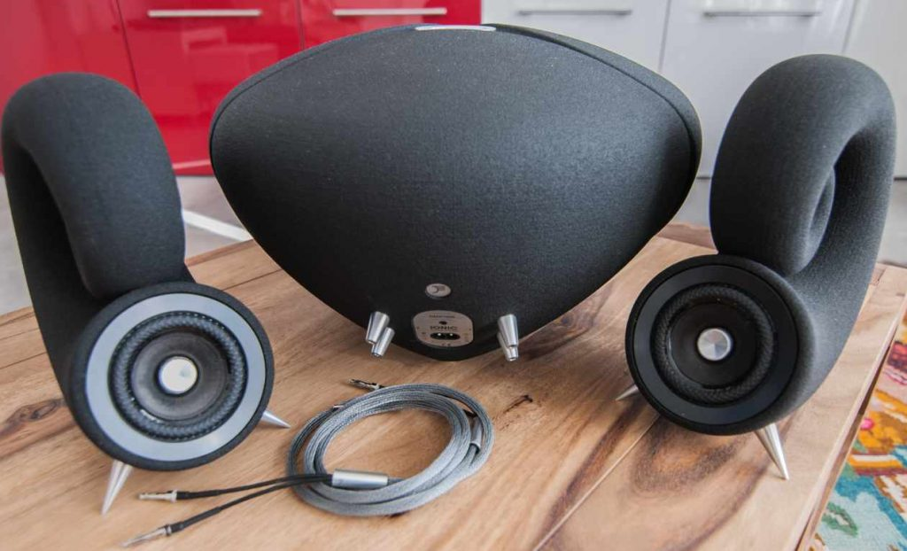 DEEPTIME Ionic Sound System mit Kabel