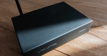 VOLUMIO PRIMO Test HiFi Front top schraeg