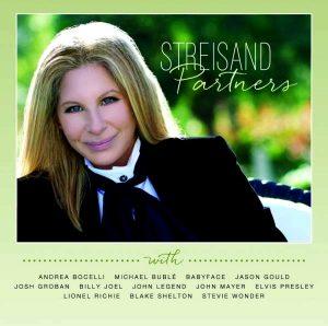 """Cover der LP """"Partners"""" mit Barbra Streisand"""