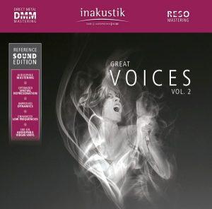 Cover des Album Great Voices Vol. 2 von in-akustik