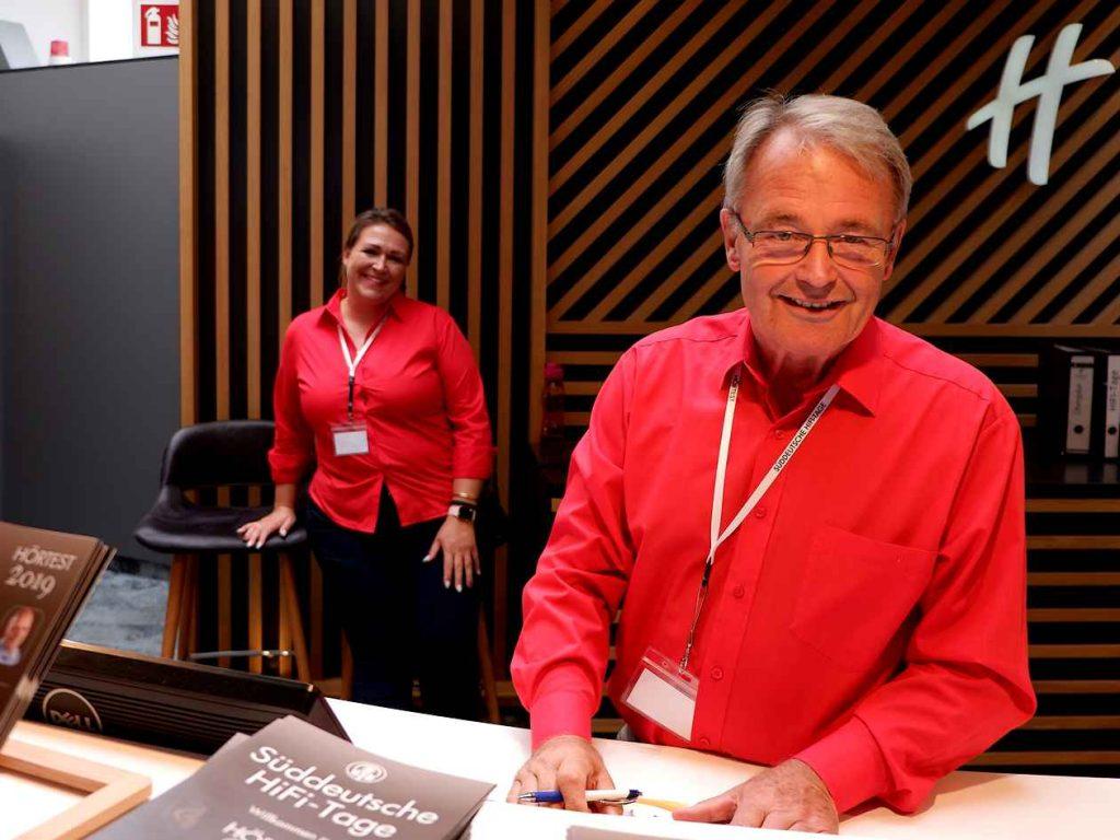 Die Veranstalter der SDHT 2019: Ivonne und Wolfgang Borchert