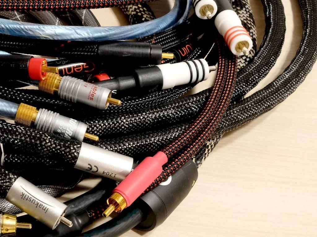 Im Test 5 NF High End Cinch Kabel