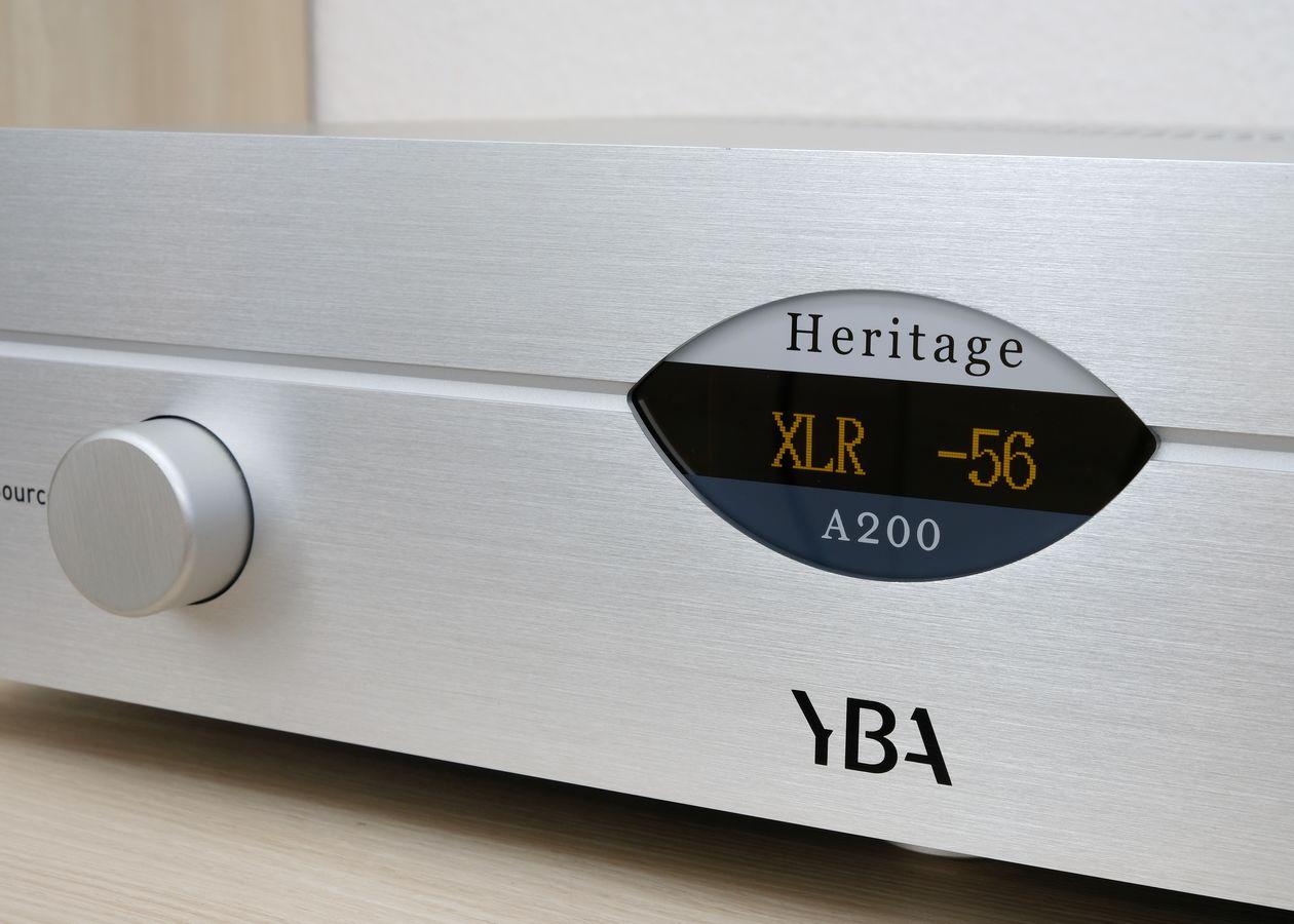 Im Test der High End Vollverstärker YBA Heritage A200 mit analogen und digitalen Eingängen.