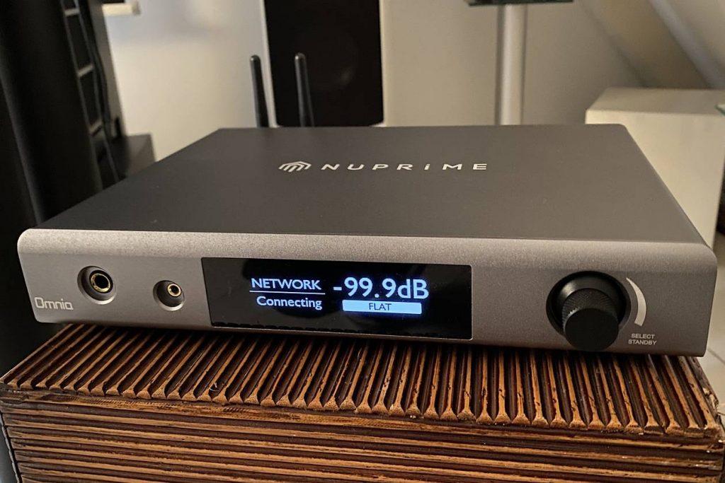 Test des Digital-Streaming-Verstärker NuPrime Audio A300 mit D/A-Wandler